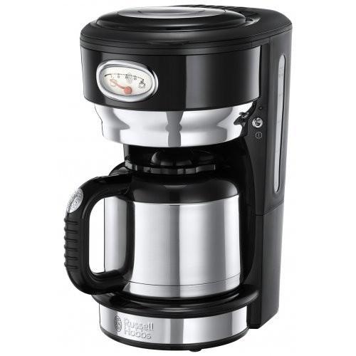 Russell Hobbs Retro Classic Noir termální kávovar 21711-56 + doprava zdarma