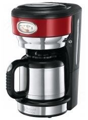 Termální Kávovar Retro Ribbon Red