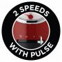 Russell Hobbs Kuchyňský robot Retro Ribbon Red