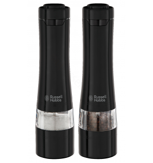 Russell Hobbs Černé mlýnky na sůl a pepř 28010-56