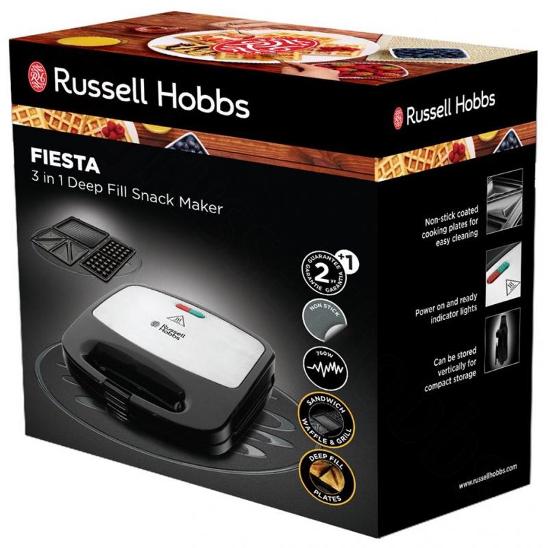 Russell Hobbs Fiesta sendvičovač a vaflovač 3v1 24540-56 1174e36252
