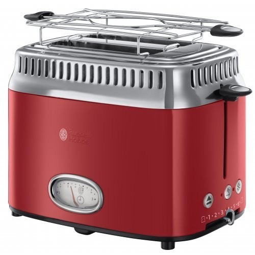 Russell Hobbs Retro Ribbon Red topinkovač 21680-56