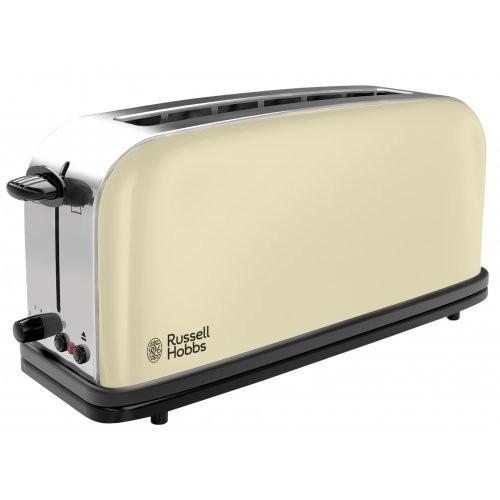 Russell Hobbs Colours Classic Cream topinkovač s dlouhou přihrádkou 21395-56