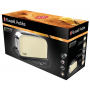 Russell Hobbs Colours Classic Cream topinkovač 21395-56 s dlouhou přihrádkou